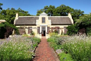 Traditional architecture at Someset West, Cape Town, Western Cape