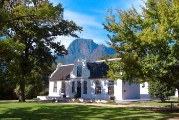 Cape Dutch house, Cape Town, Western Cape