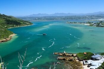 Knysna lagoon as seen from The Heads, Knysna, Garden Route